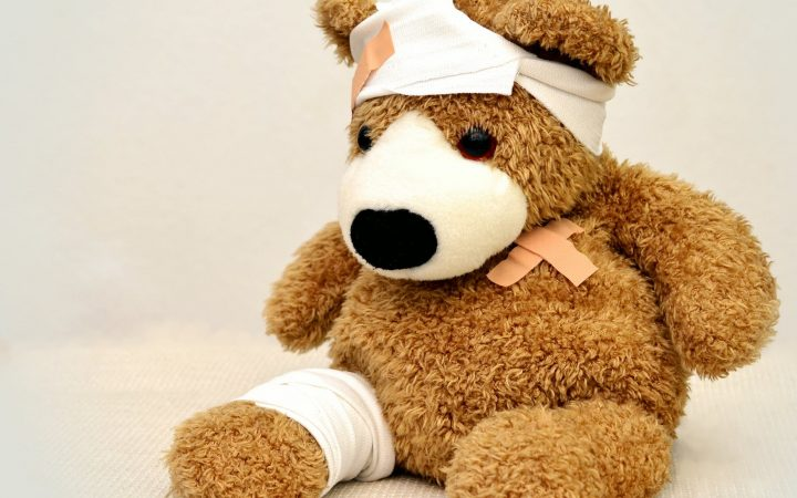 teddy bear Concussion