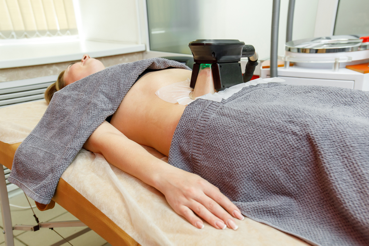Weight loss and slimming cryolipolysis treatment